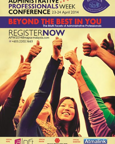 Beyond The Best In You The Multi Facets of Administrative Professionals 2014