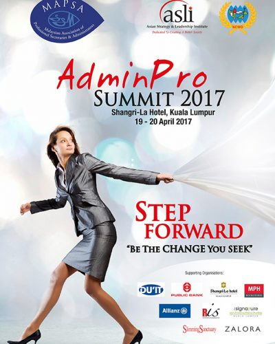 Step Forward Be the Change You Seek 2017