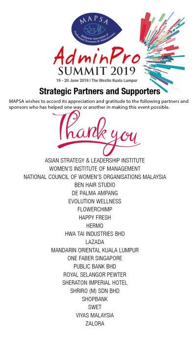 APS2019-List of Sponsors Acknowledgement-new